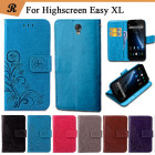 Чехол книжка клип-кейс для смартфона Highscreen Easy XL